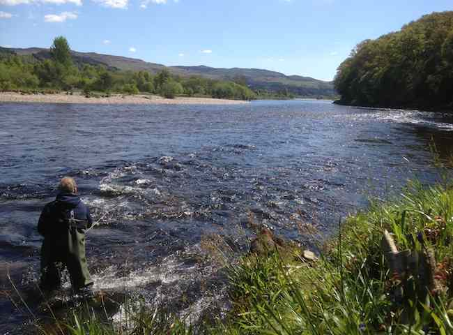 Here's a lovely late Spring day on the River Tay in Perthshire